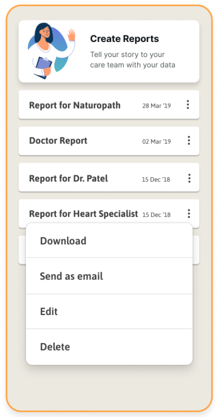 Create Reports with ZoeInisghts