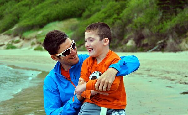 Blaine and Evan NL Beach (1)