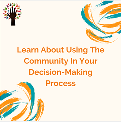 Community in decision making