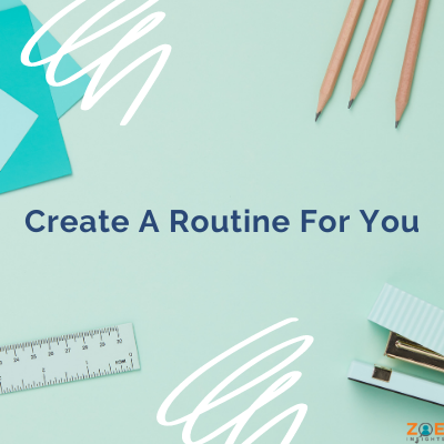 Copy of Create a routine for you