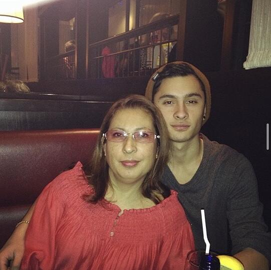 My mom and I before her diagnosis.