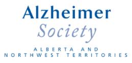 Alzheimer's Society logo, connected health platform
