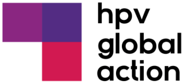 HPV Global Action logo, connected health platform