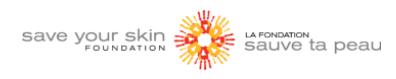 save your skin foundation logo, connected health platform